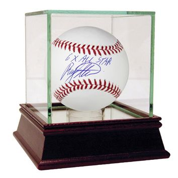 Rusty Staub Signed MLB Baseball w 6x All Star Insc