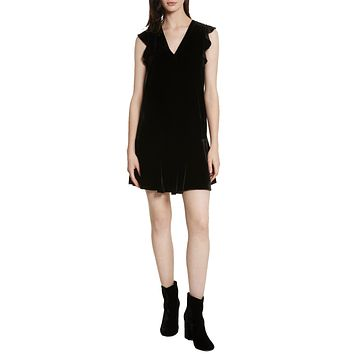 Almarie Velvet Shift Dress