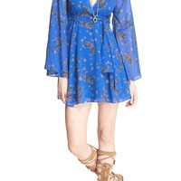 Free People 'Lilou' Floral Print Minidress | Nordstrom