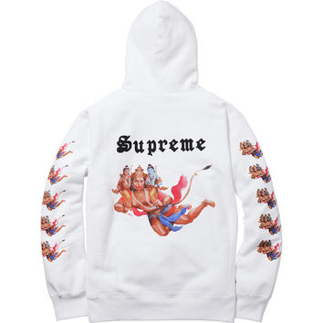 Supreme: Hanu Pullover - Off White