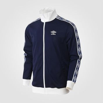 UMBRO 2018 Autumn New Male Cardigan Of Clothing Motion Tide Male Loose Coat Gym Comprehensive training sweater UI183AP2403