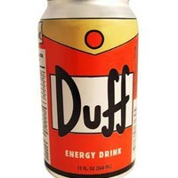 Duff Energy Drink - Whimsical & Unique Gift Ideas for the Coolest Gift Givers