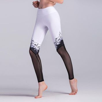 The Winter Collection Icy Mesh Legging