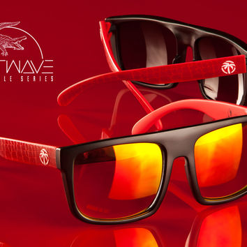 Crimson Croc Sunglasses : Regulator, Cruiser or Supercat