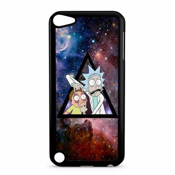 Rick And Morty In Space iPod Touch 5 Case