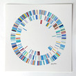 Made to Order, DNA, Original watercolor painting, bacteria, geekery art, bacteria painting, watercolour, DNA, dna art, microbe, science art,