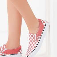 Vans Checkerboard Classic Slip-On Sneaker | Urban Outfitters