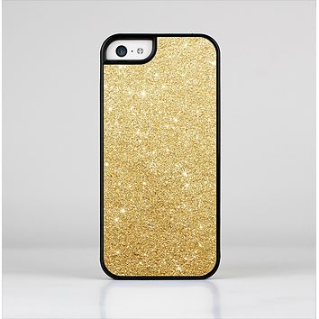 The Gold Glitter Ultra Metallic Skin-Sert Case for the Apple iPhone 5c