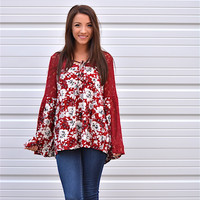 Addison Peasant Top