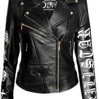 Sigil Leather Jacket [B]