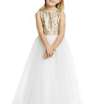 Dessy Girl FL4055 Flower Girl Dress