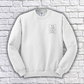 You Look So Cool The 1975 Crewneck Sweater