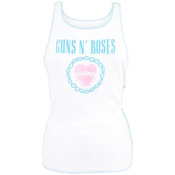 Guns N Roses - Broken Heart Juniors Tank Top
