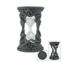 Amazon.com: Gothic Halloween Skull Bat Sand Timer Decoration Figurine Collectible: Home & Kitchen