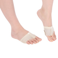 1Pair Cheap Ballet Dance Paw Shoes Gymnastics Soft Half Sole Belly Toe Undies Fitness Accessories Microfiber Elastic Size S-XL