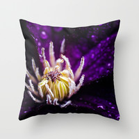 The jellyfish Throw Pillow by HappyMelvin