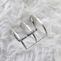 THE TIDES CUFF IN SILVER