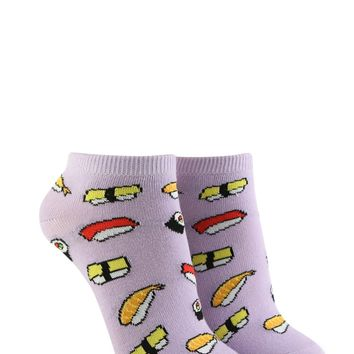 Sushi Graphic Ankle Socks