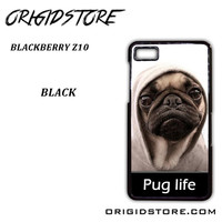 New Design Funny Hilarious Pug Life Parody Fans For Blackberry Z10 Case UY