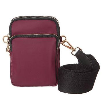 Women Water Resistant Cell Phone Purse Wallet Small Crossbody Waist Bags