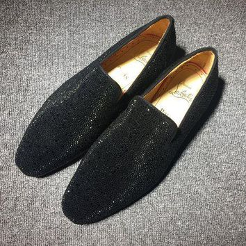 PEAPNW6 Cl Christian Louboutin Flat Loafer Style #787