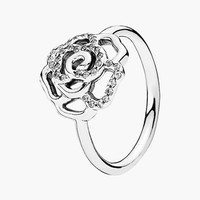 Women's PANDORA Pave Rose Ring