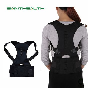Magnetic Posture Corrector Brace Shoulder Back Support for man women belt