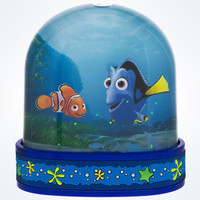 disney parks finding nemo and dory snowglobe water dome new