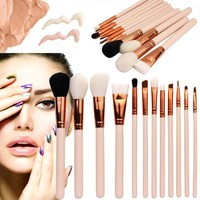 12PCS Cosmetic Makeup Brush  Makeup Brush Eyeshadow Brush professional makeup brushes set High Quality pennelli trucco