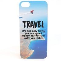 Travel Makes You Richer Phone Case