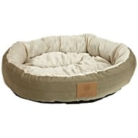 22-inch Round Pet Bed in Sage Green Small Dog or Cat