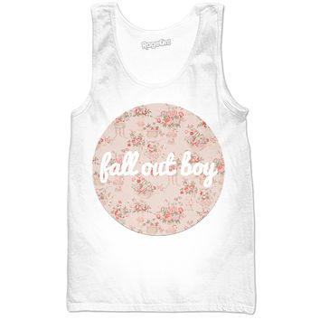 Fall Out Boy Tank Floral