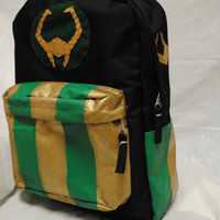 Avengers Loki Minimalist Backpack by DayByRandomDay on Etsy