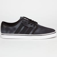 Adidas Seeley Mens Shoes Solid Grey/Black  In Sizes