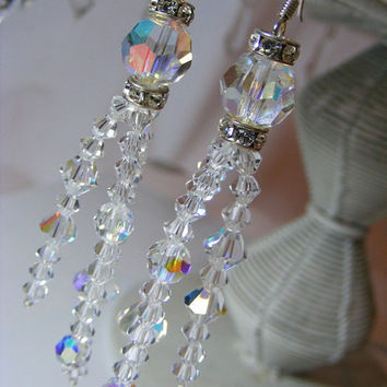 ANGELINA Chandelier Earrings Small Version by Passionflower Jewellery Designs