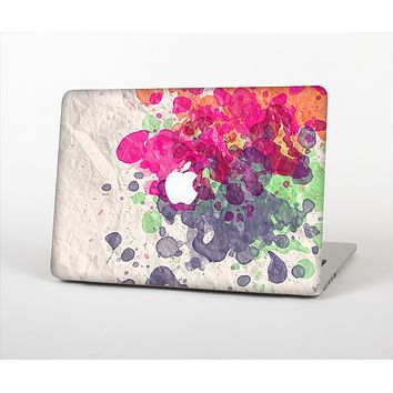 The Vintage WaterColor Droplets Skin Set for the Apple MacBook Pro 15""