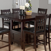Jofran Tessa Chianti Counter Height Dining Table