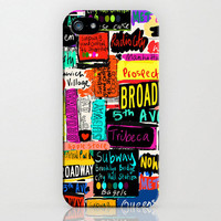 New York style, Iphone 5 case, Hard Plastic, FREE Shipping Worldwide