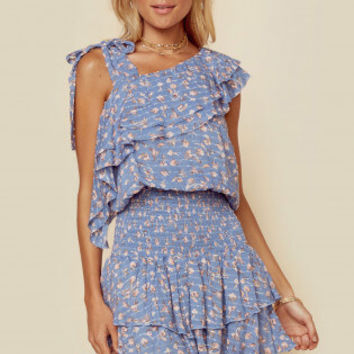 DAYDREAMER ONE SHOULDER TOP