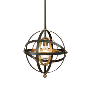 Rondure 1 Light Mini Pendant Chandelier