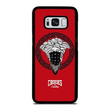 CROOK AND CASTLES BANDANA RED Samsung Galaxy S8 Case