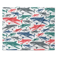 Shark Group Love Baby Childrens Fleece Blanket