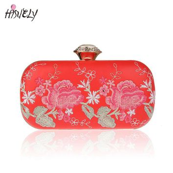 2017 Fashion Women Handbags Metal Patchwork Shinning bling Shoulder Bags Ladies Print Day Clutch Party Evening Bags WY127