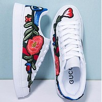 Trendsetter Gucci Fashion Embroidery Old Skool Sneakers Sport Shoes