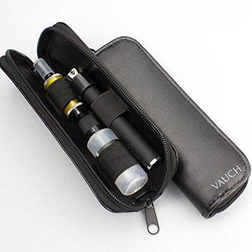 Leather Vape Pen Accessories Case / Bag / Pouch / Holder - Keep Your Vape Clean and Secure - Organize Your Juice Bottle and Vape Together