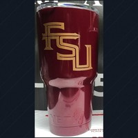 Tumbler DECAL Similar To Florida State Seminoles Football Team FSU
