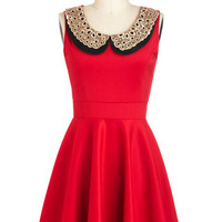 Two Happy Hearts Dress in Red | Mod Retro Vintage Dresses | ModCloth.com