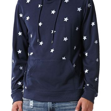 On The Byas Getty Printed Lightweight Hoodie - Mens Shirt