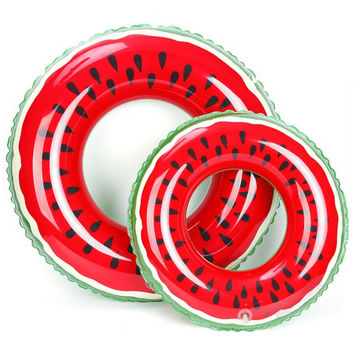 Watermelon Swimming Ring Inflatable Floats pool Swimming Float For Adult Floats inflatable Watermelon Swim Ring Water Sports Toy
