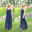 Slip Into Summer Maxi in Navy